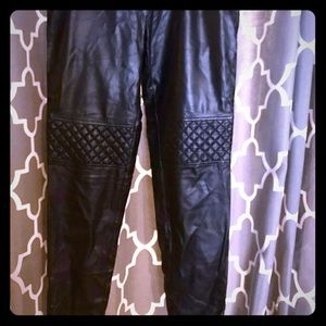Vince camuto leather pant